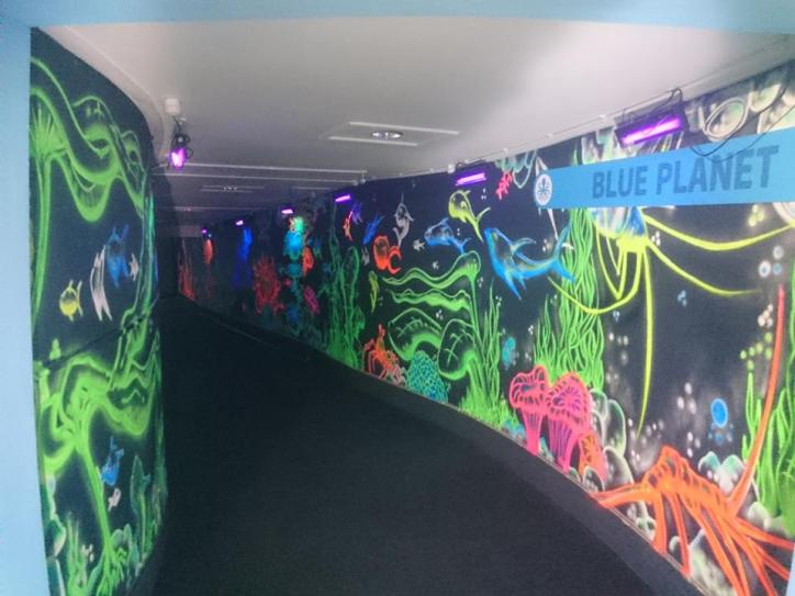neon corridor 5
