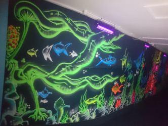 neon corridor 9